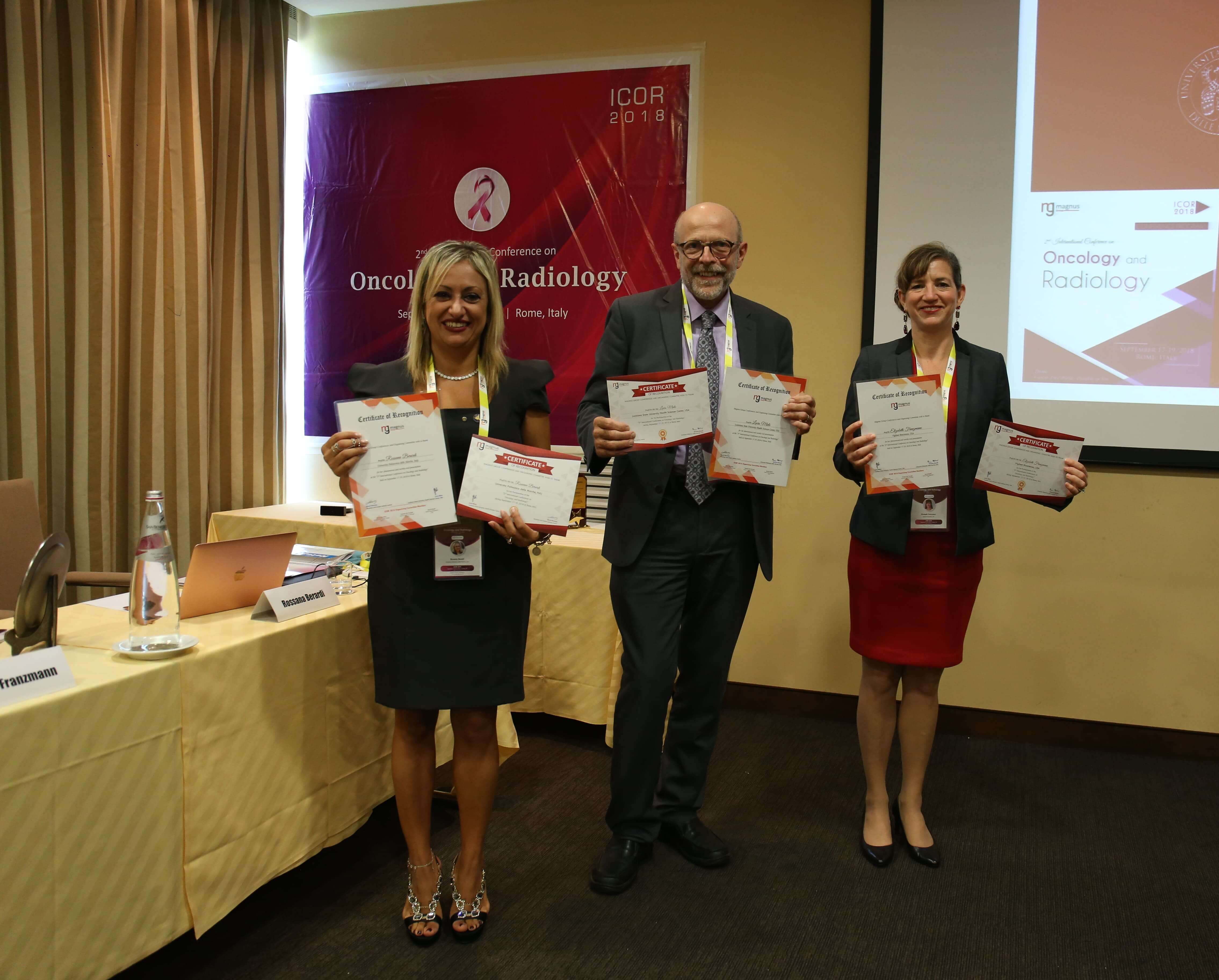 Cancer education conferences - Day 1 Keynote Speakers