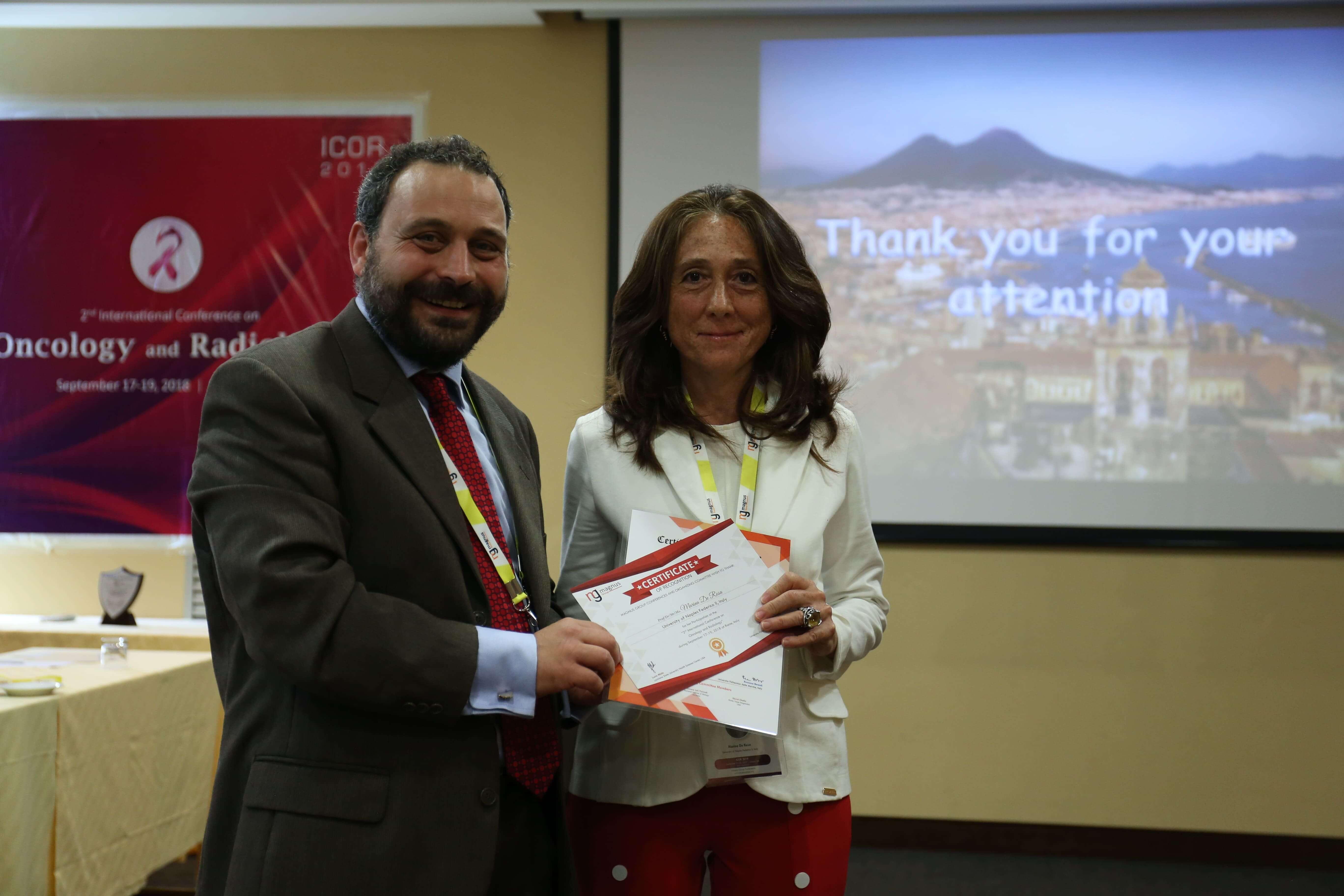Cancer Conferences - Marina De Rosa
