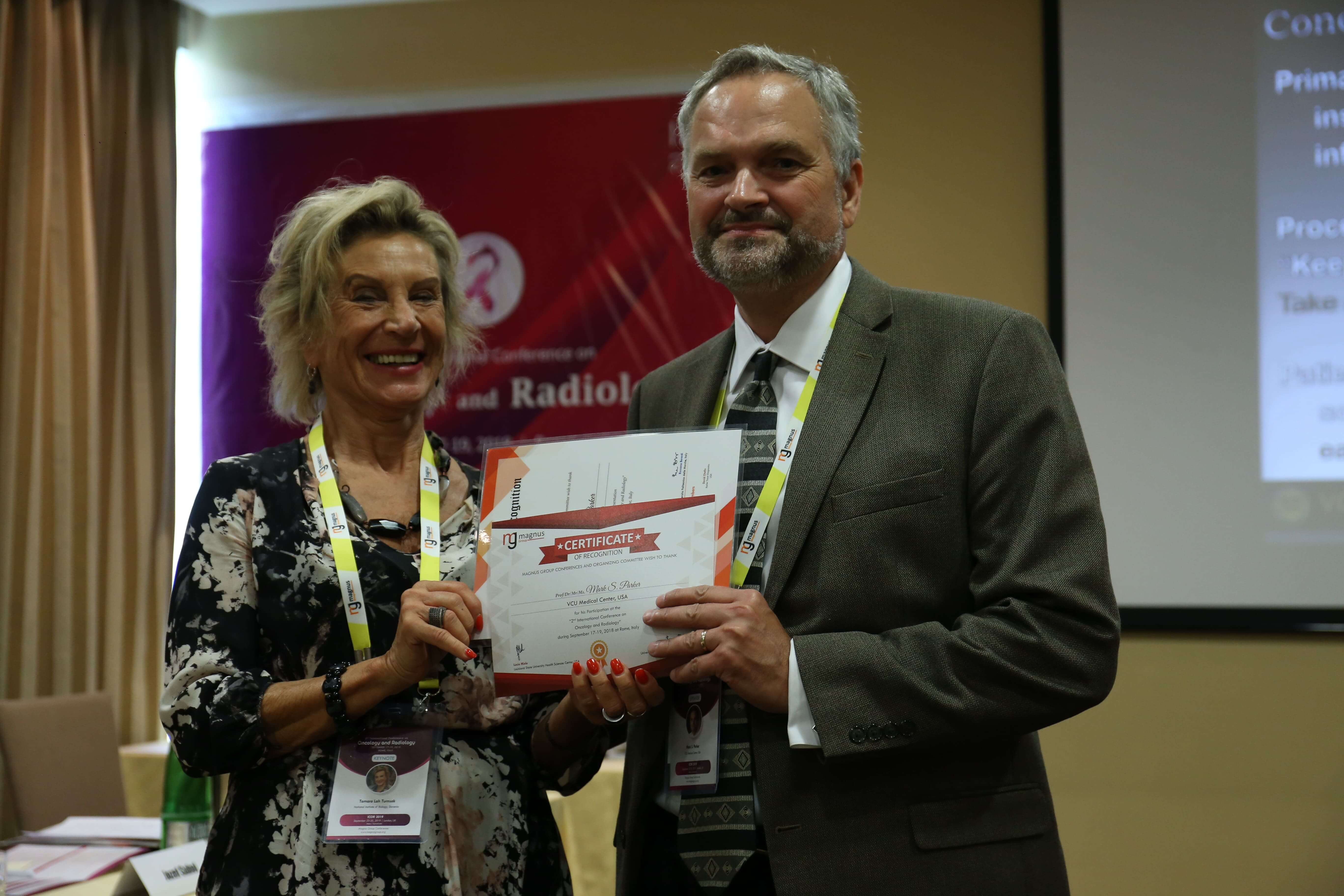 Cancer education conferences - Mark S. Parker