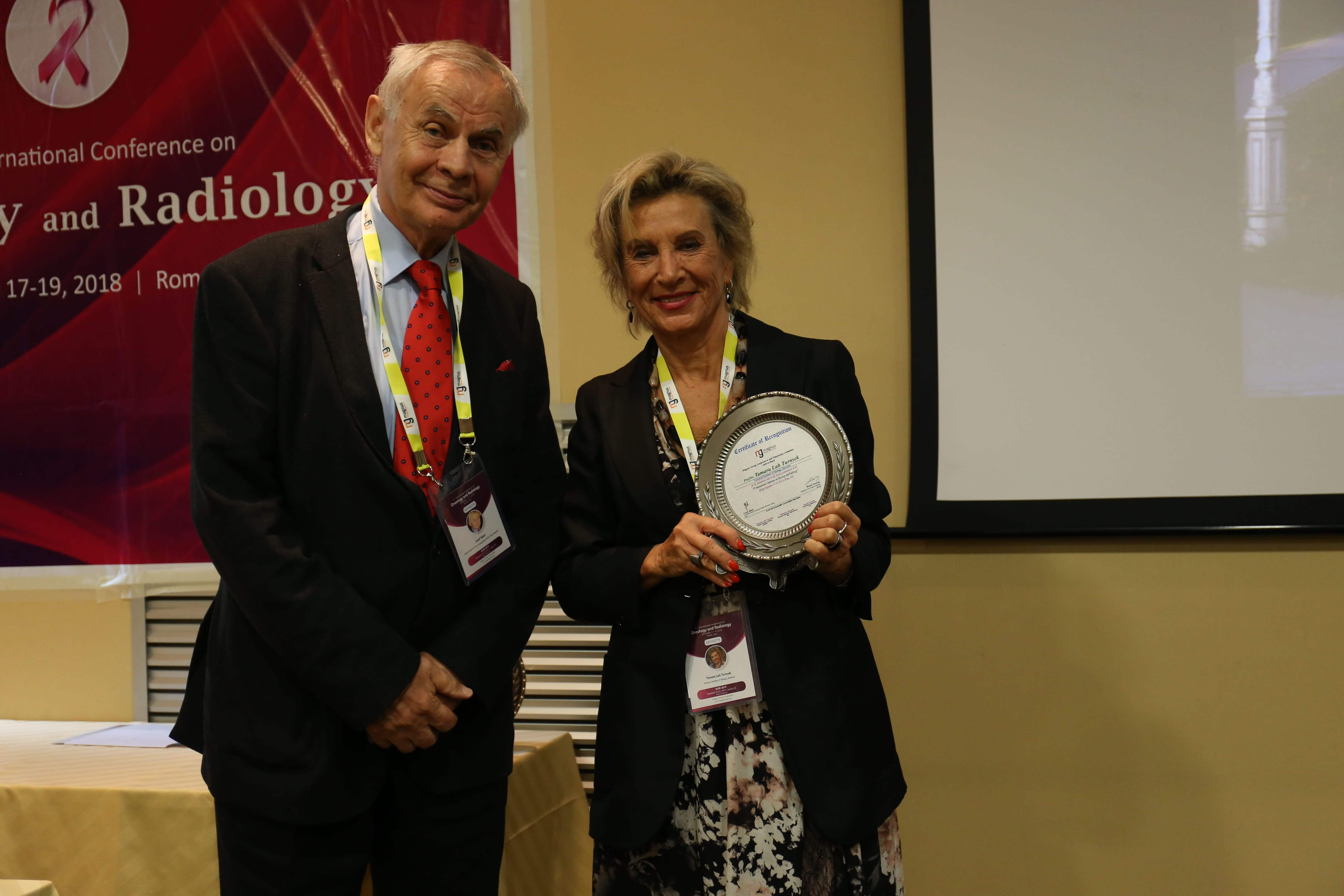 Cancer Conferences - Tamara Lah Turnsek