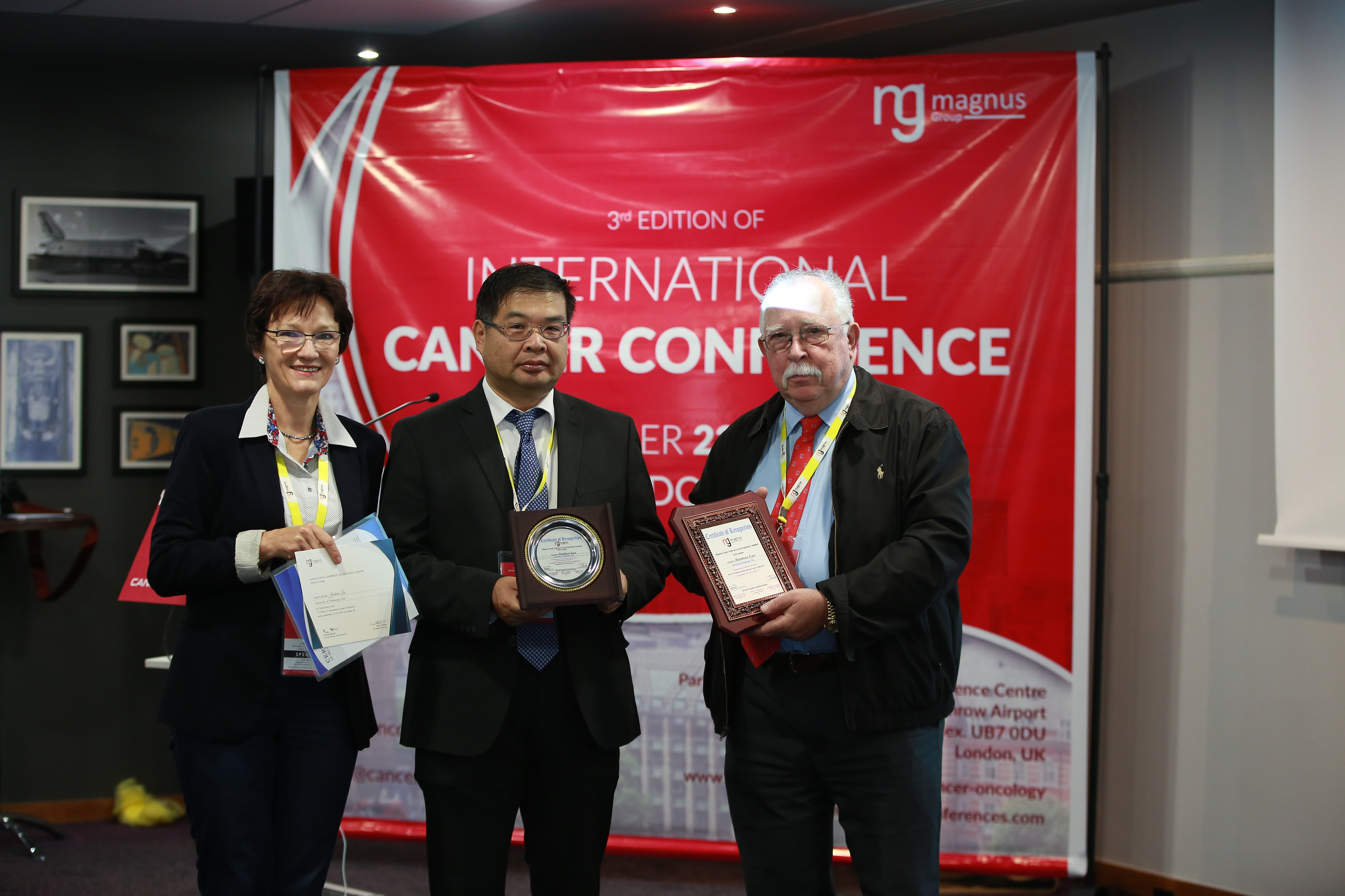 Leading Speaker for Cancer Conferences - Jianhua Luo