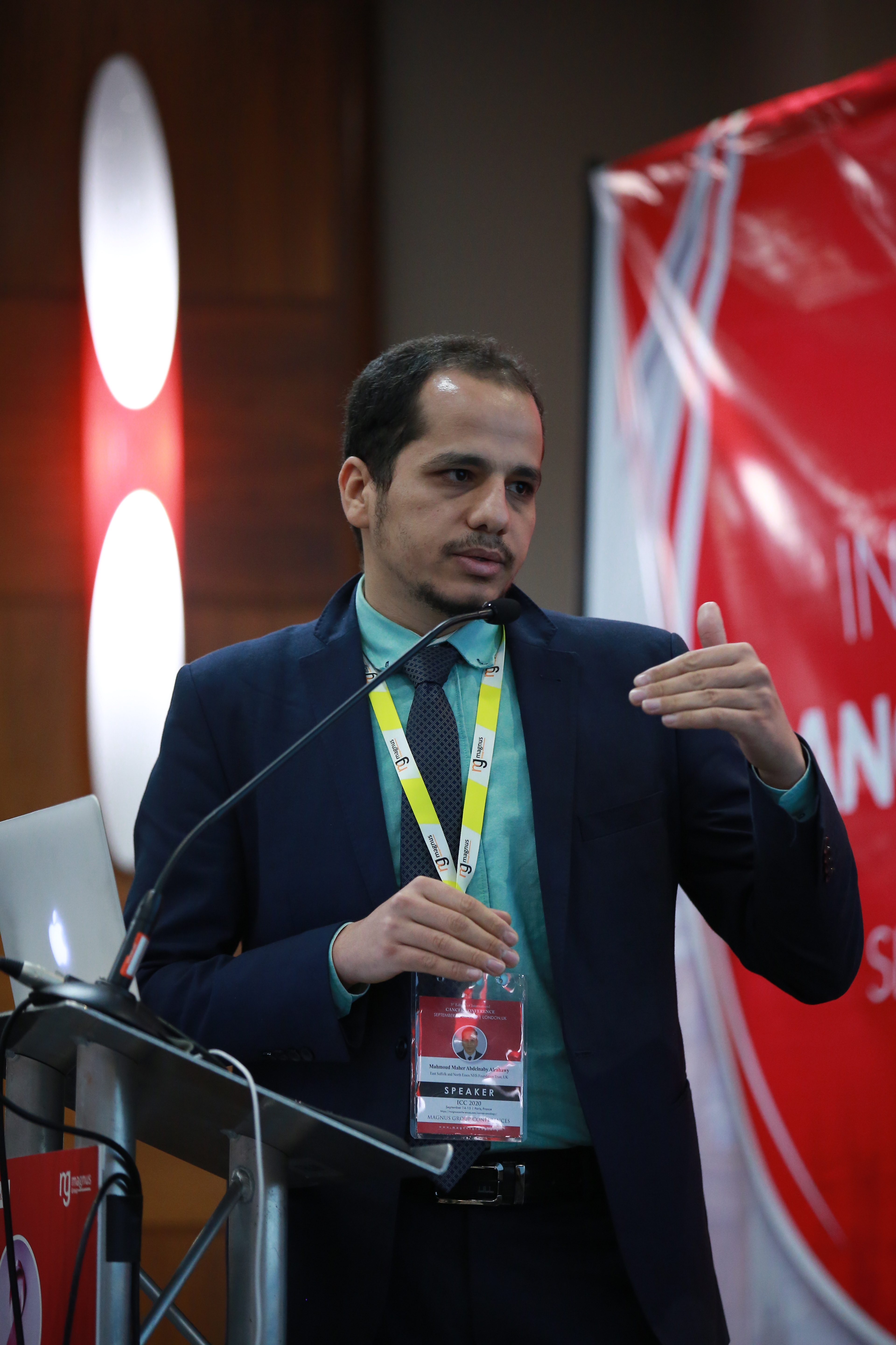 Speaker for Radiology Conferences - Mahmoud Maher Abdelnaby Alrahawy