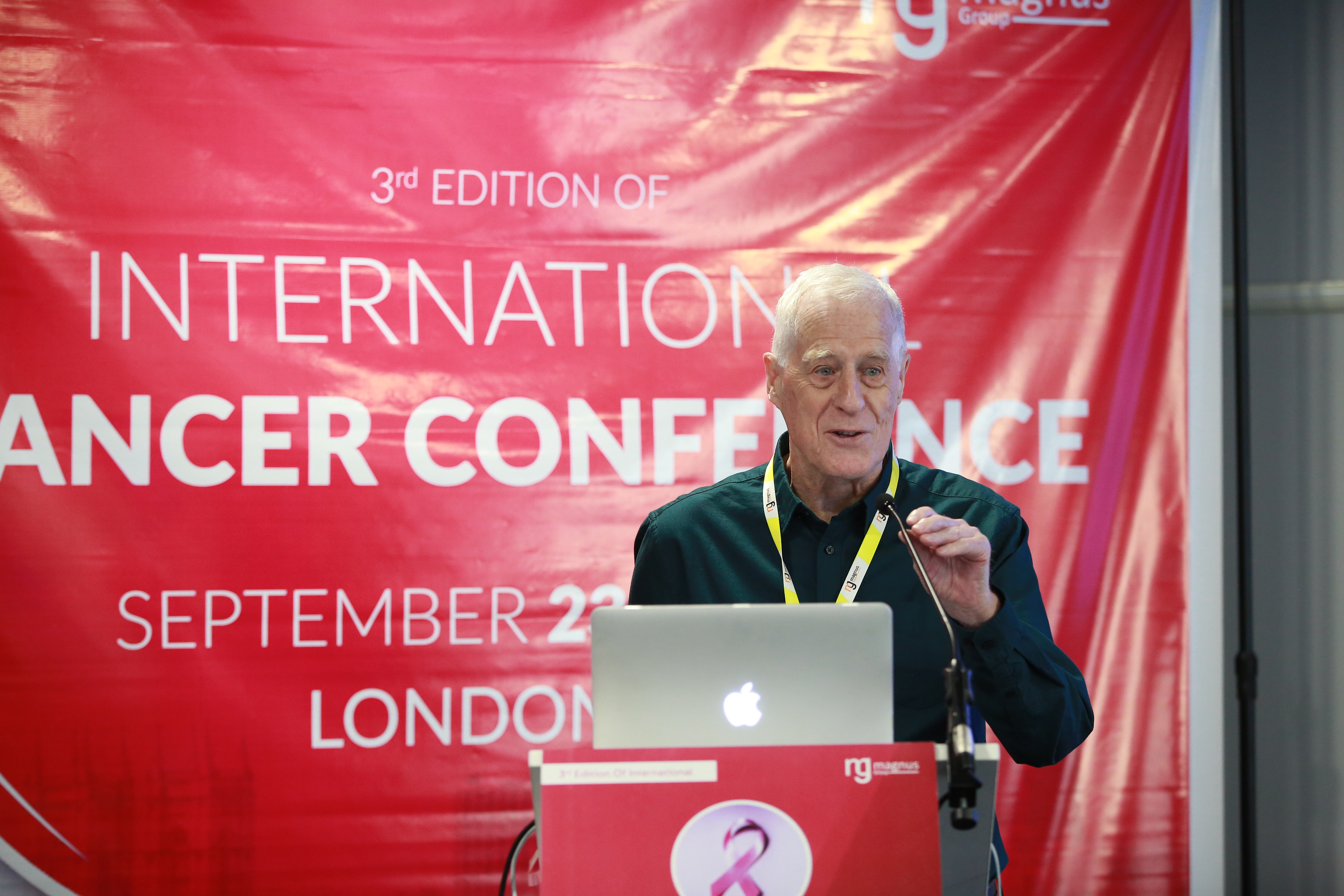 Leading Speaker for Cancer Conferences - Michael Thompson