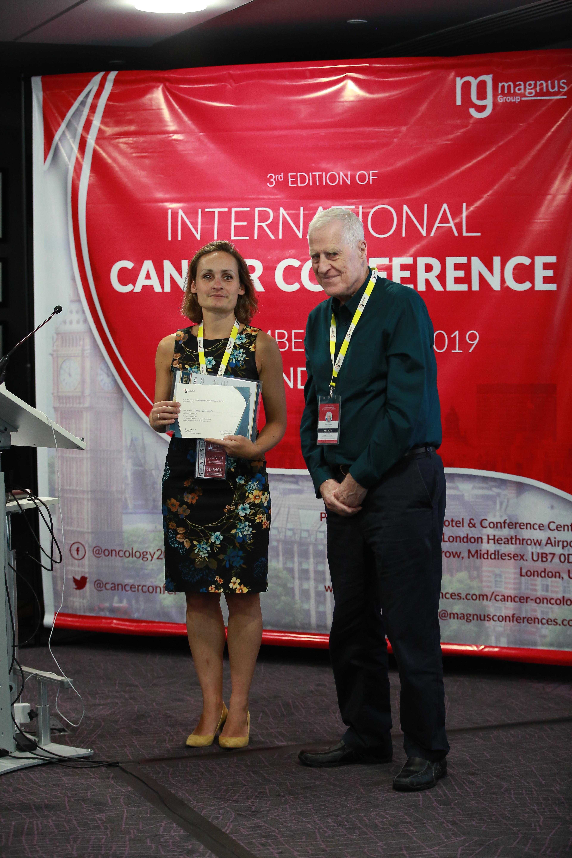 Speaker for Cancer Conferences - Penny Kechagioglou