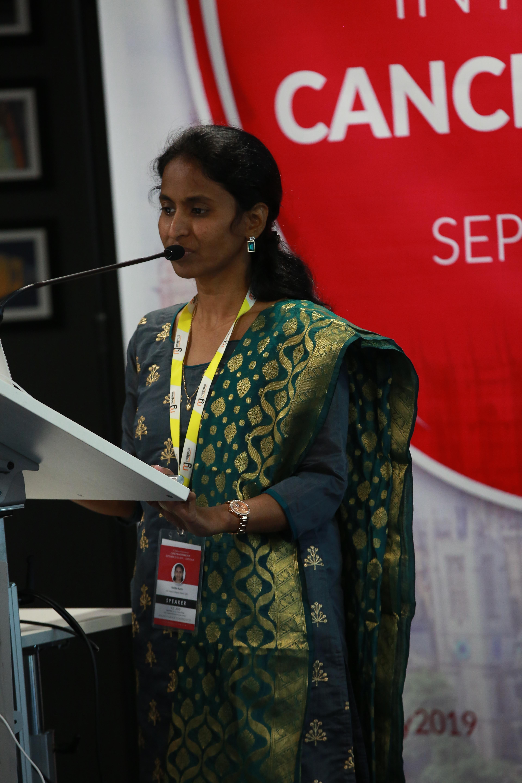 Speaker for Cancer Conferences - Saritha Karre