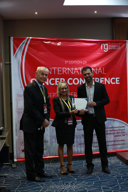 Cancer education conferences - Sergio Marcelino De Oliveira