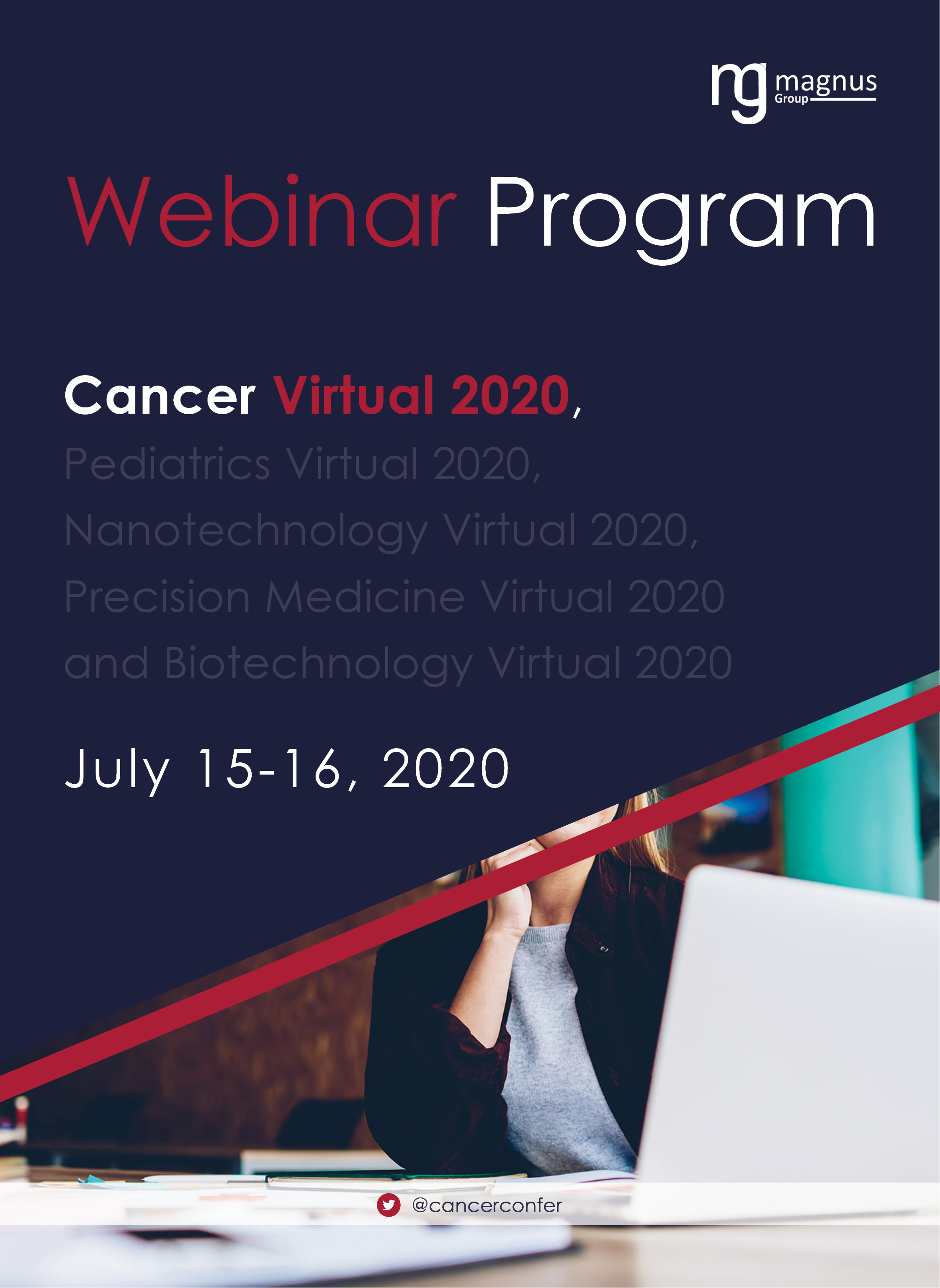 1st Edition of International Webinar on Cancer | Online Event Program