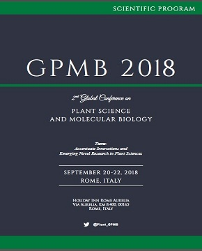 2nd Edition of Global Conference on Plant Science and Molecular Biology Program