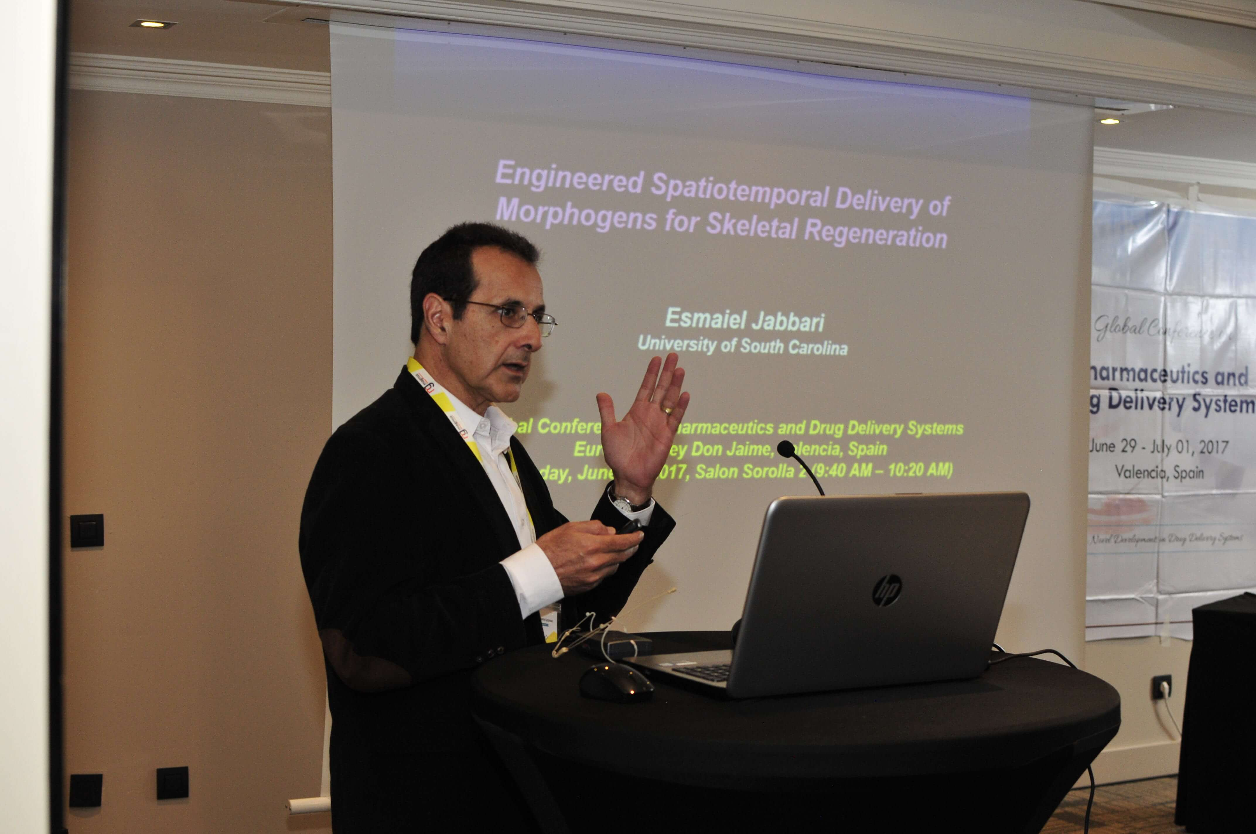 Leading speakers for Biotechnology summits-Esmaiel Jabbari