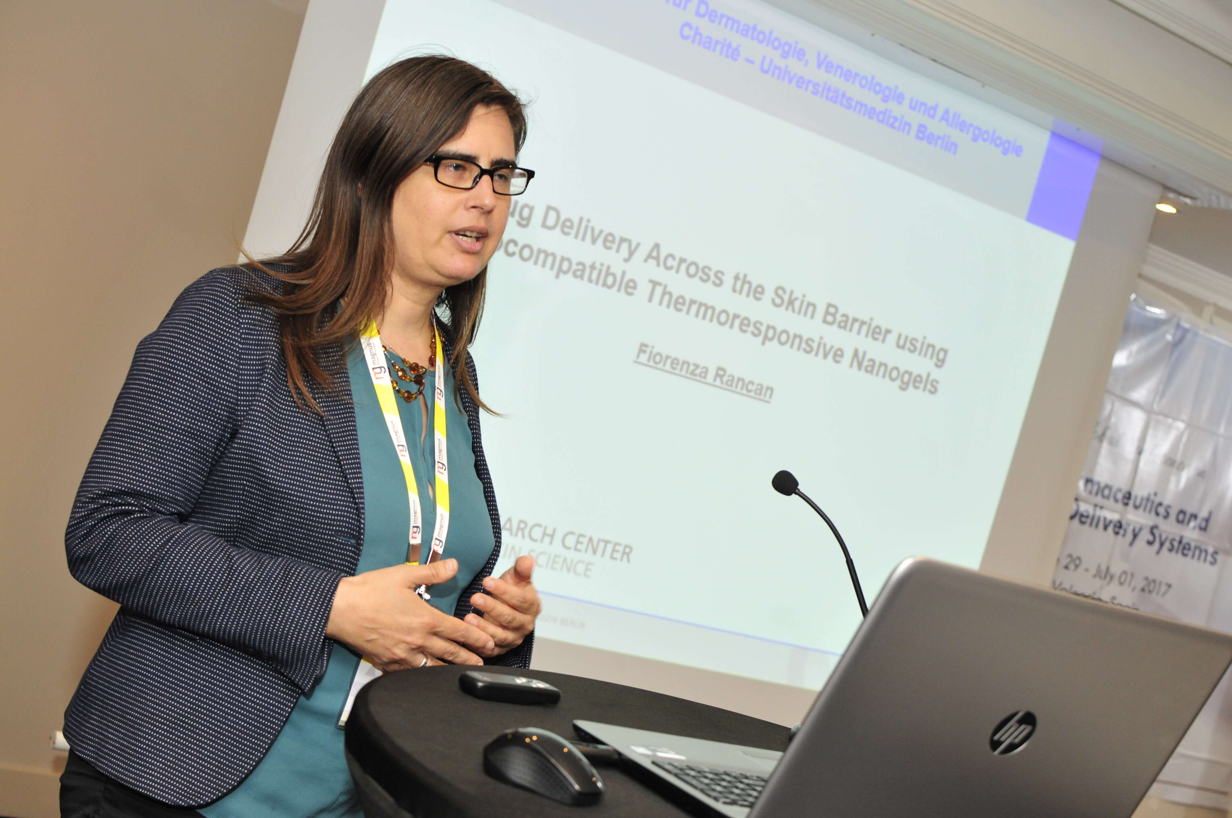 Speaker for Biotechnology conferences 2020-Fiorenza Rancan Charite