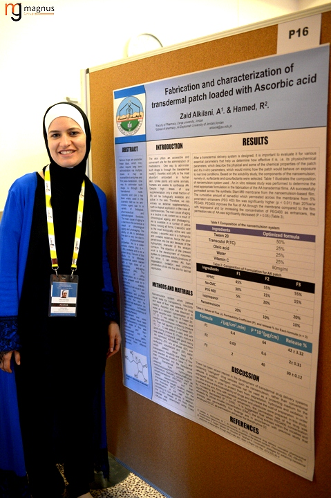 Leading speakers for Biotechnology summits - Ahlam Zaid Alkilani