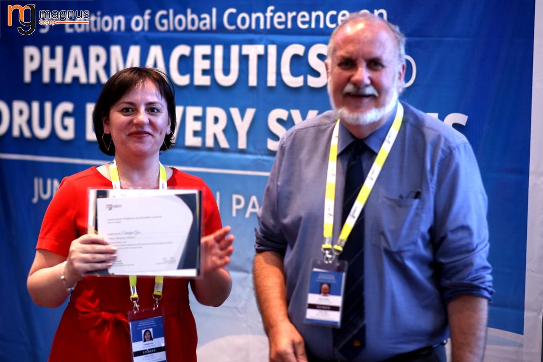 Leading speakers for Biotechnology summits - Enkelejda Goci