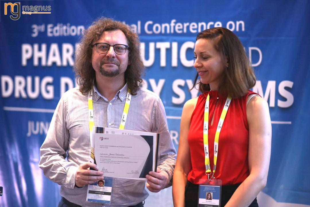 Speaker for Biotechnology conferences Europe 2020 -  Jaunius Urbonavi?ius