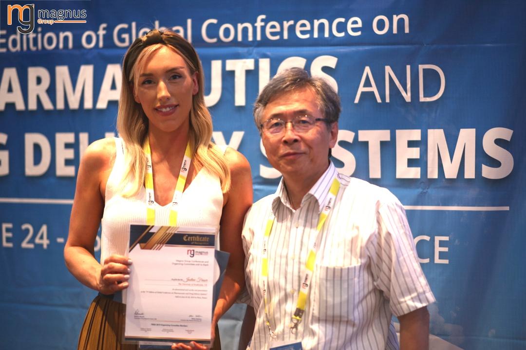 Potential speakers for Biotechnology conferences 2020 - Justine Fraser
