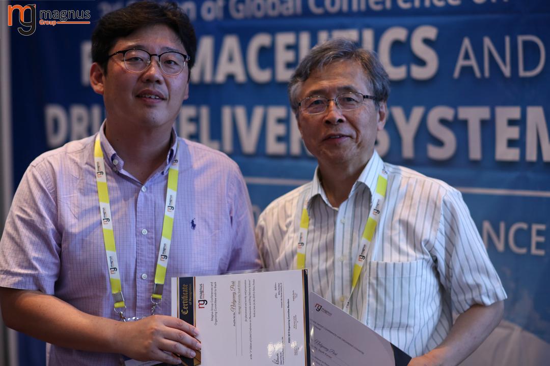 Speaker for Biotechnology conferences Europe 2020 - Nokyoung Park