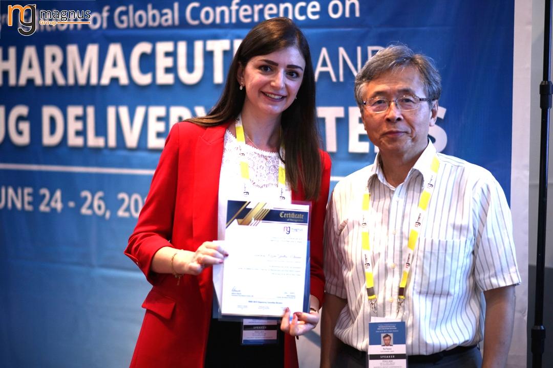 Leading speakers for Biotechnology summits - Razan Ghattas Mhanna