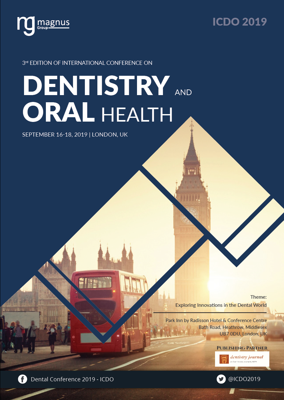 3rd Edition of International Conference on Dentistry and Oral Health Book