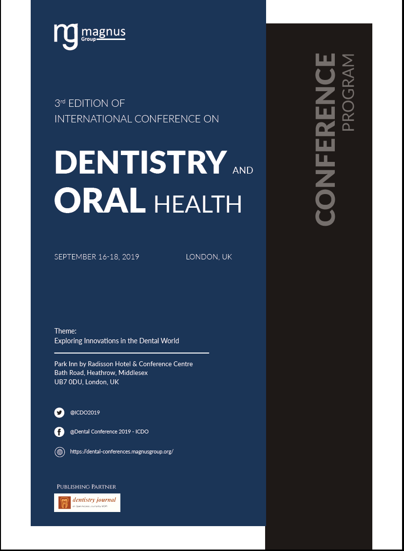 3rd Edition of International Conference on Dentistry and Oral Health Program