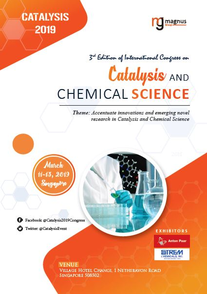 3rd Edition of International Congress on Catalysis and Chemical Science Book