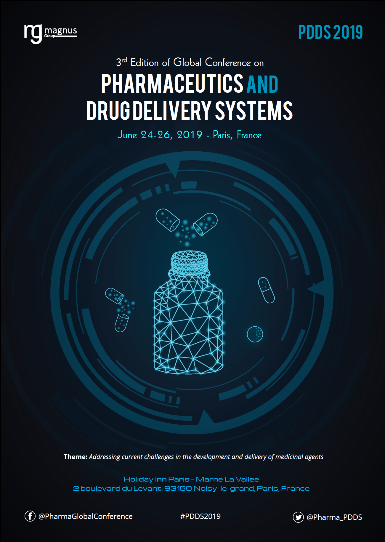 3rd Edition of Global conference on Pharmaceutics and Drug Delivery Systems Book