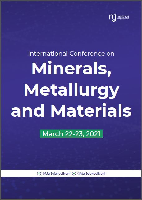 International Conference on MINERALS, METALLURGY AND MATERIALS | Virtual Book