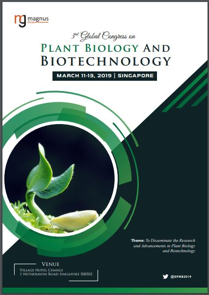 3rd Global Congress on Plant Biology and Biotechnology Book