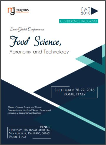 Euro-Global Conference on Food Science, Agronomy and Technology Program