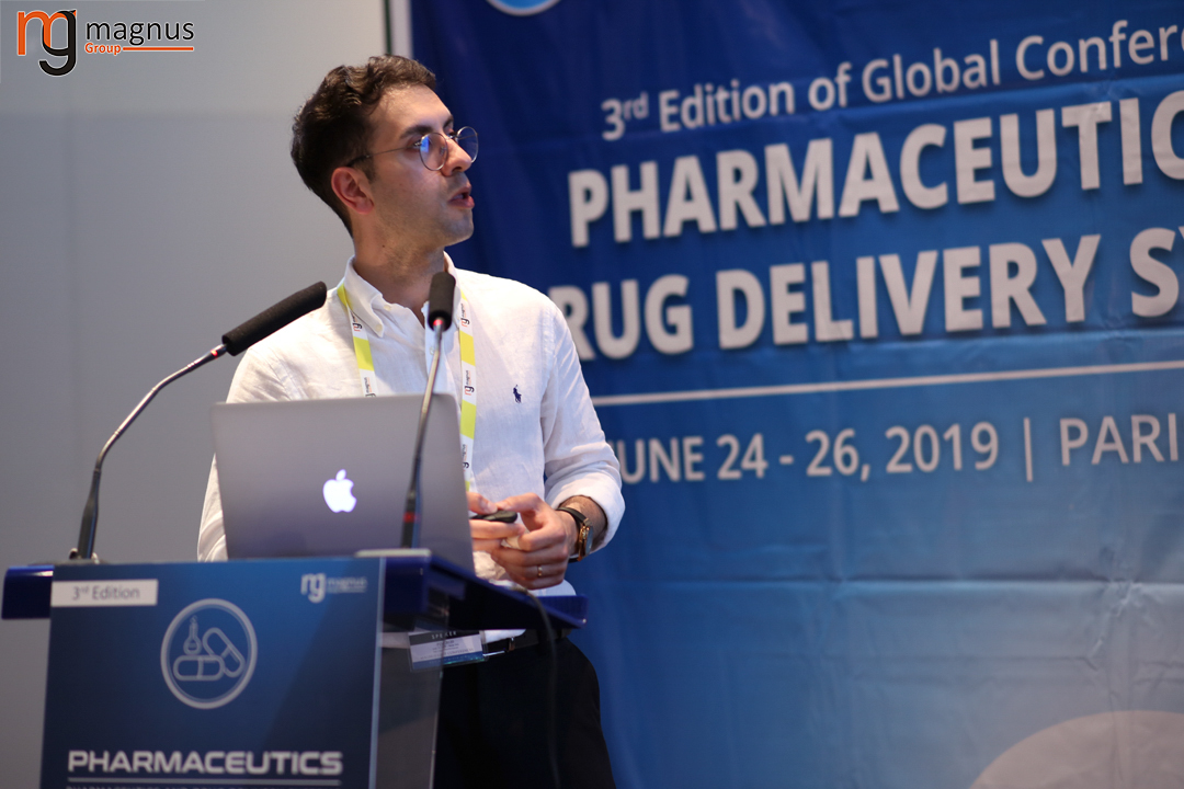 Potential speakers for Drug Delivery Conferences - Shayan Fakhraei Lahiji
