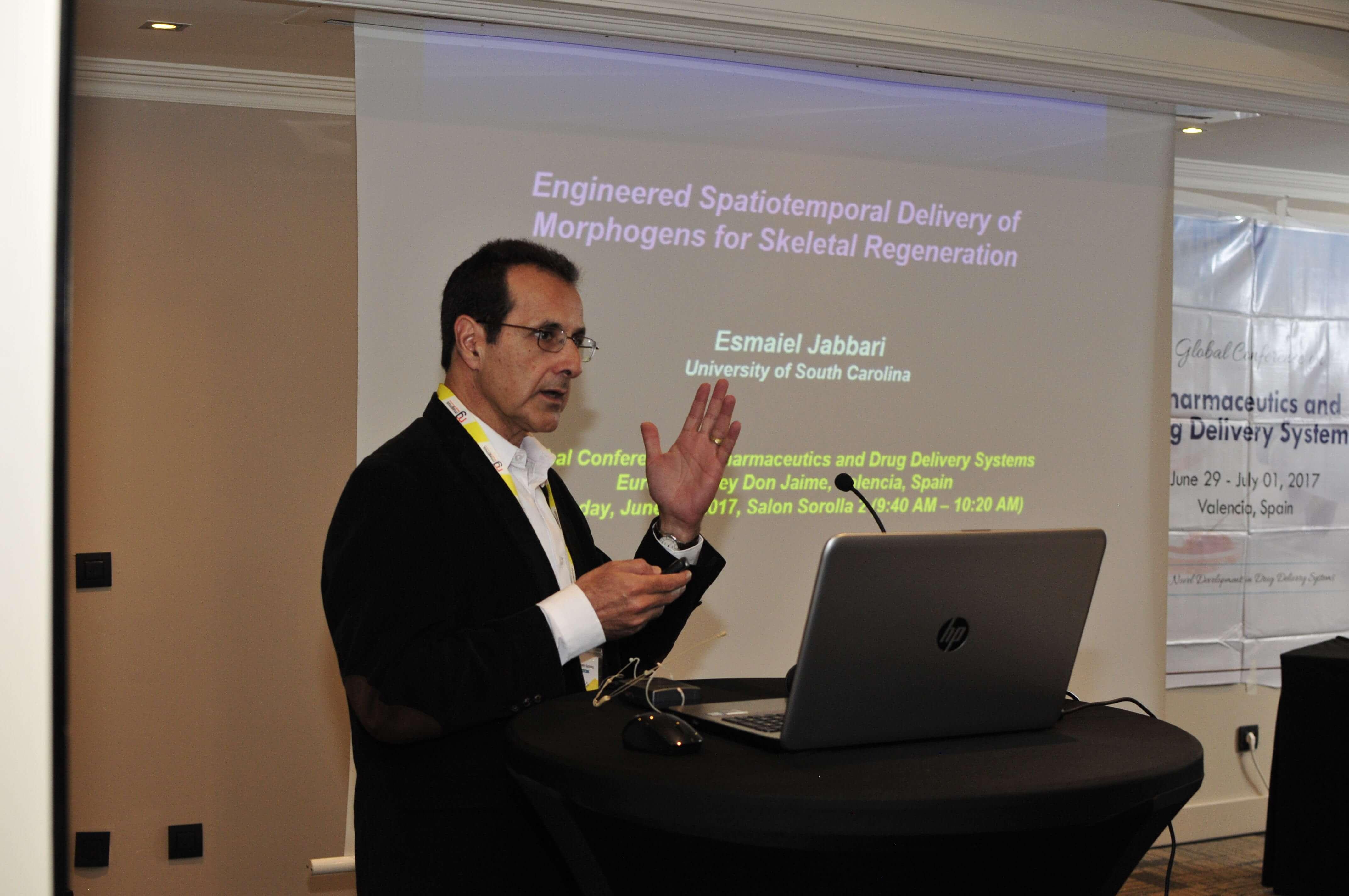Leading speakers for Pharma Conferences 2020 -Esmaiel Jabbari