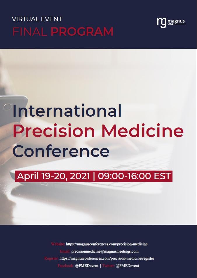 International Precision Medicine Conference | Virtual Program